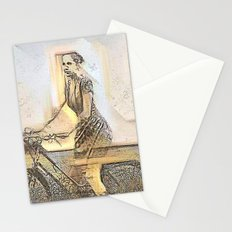 The Cyclist Stationery Cards