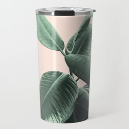Ficus Elastica #25 #SummerVibes #foliage #decor #art #society6 Travel Mug