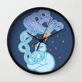 Thunderstruck Wall Clock