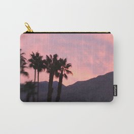 Palm Springs, California, pink, cactus, desert, desert photography, photography Carry-All Pouch