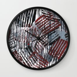 Cherry Gray Wall Clock