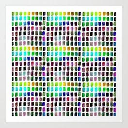 Brushstrokes 1c by Kathy Morton Stanion Art Print