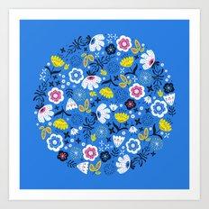 Fresh Flora Art Print