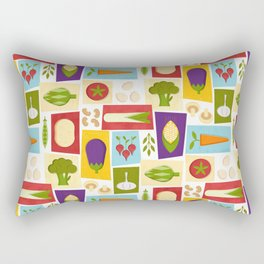 Farm to Table_pattern Rectangular Pillow