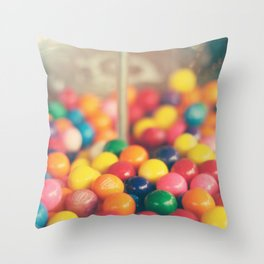 Bubble, bubble Throw Pillow
