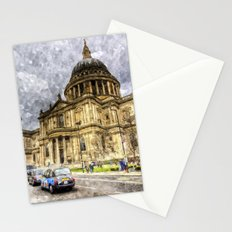St Paul's Cathedral London Sketch Stationery Cards