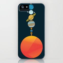 Solar System 2 iPhone Case