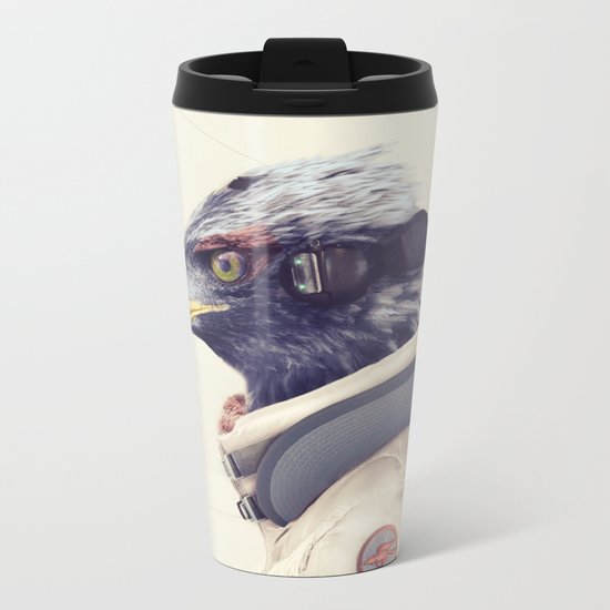 Star Team - Falco Metal Travel Mug