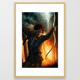 Katniss Everdeen Framed Art Print