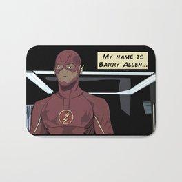 My name is Barry Allen Bath Mat