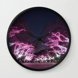 Ueno Park - Tokyo Wall Clock