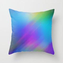 Blur background Throw Pillow