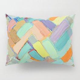 Peachy Internodes Pillow Sham