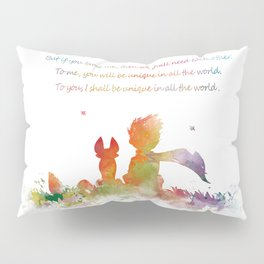 Little Prince Fox Pillow Sham