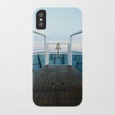 Santa Catalina iPhone X Slim Case