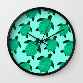 Turtle Totem Wall Clock