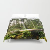 forrest Duvet Covers featuring Forrest by ILIA PHOTO + CINEMA