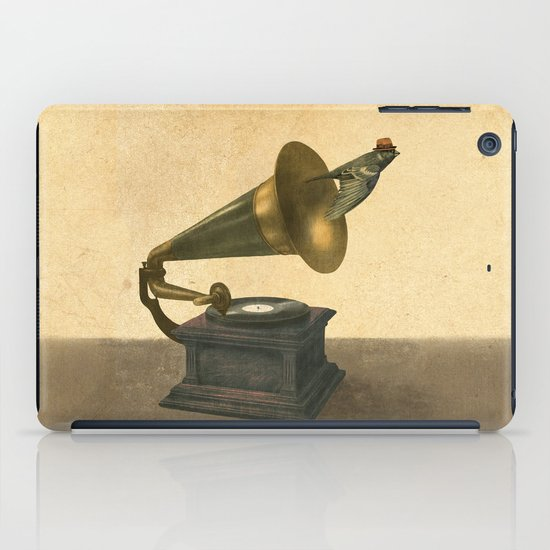 Vintage Songbird iPad Case