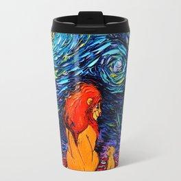 lion king and jr Travel Mug