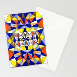 Geometric art buzz Stationery Cards