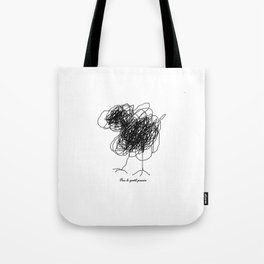Piou the chick Tote Bag