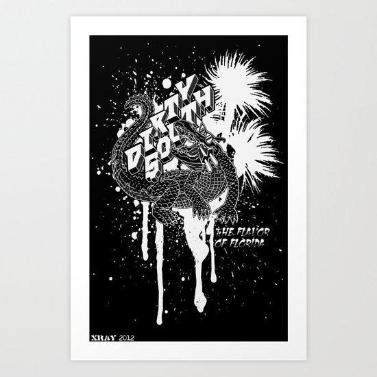 DIRTY SOUTH: The Flavor of Florida Art Print