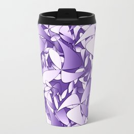 Pattern violet 211 Travel Mug