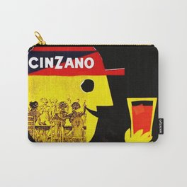 1960 Vintage Cordial Cinzano Advertisement Poster Carry-All Pouch