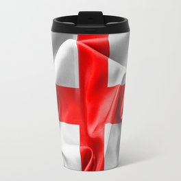 English St Georges Cross Flag Travel Mug