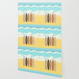 Aloha Surf Wave Beach Wallpaper