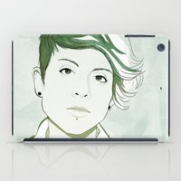 tegan and sara iPad Cases featuring Tegan by GirlApe