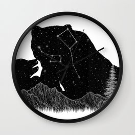 Ursa Major Ursa Minor Wall Clock
