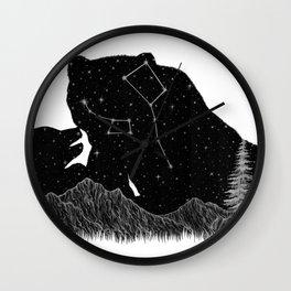 Ursa Major Ursa Minor Wall Clock