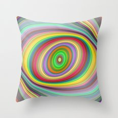Happy brightness Throw Pillow
