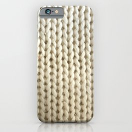 hygge: cream iPhone Case