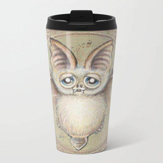 Bat Tito Metal Travel Mug