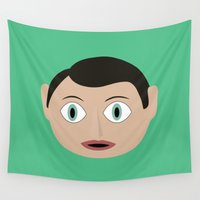 frank Wall Tapestries featuring frank by Live It Up