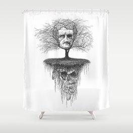 Edgar Allan Poe, Poe Tree Shower Curtain