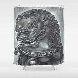 Guardian Lion Shower Curtain