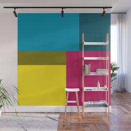 Color Block Wall Mural