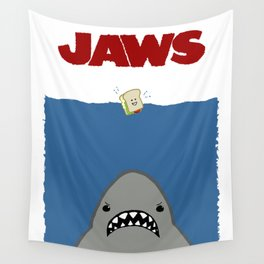 JAWS Movie Poster Wall Tapestry