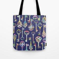 Rainbow Keys Tote Bag