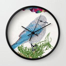 Mt Bluebird Wall Clock