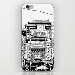 Yokohama - China town iPhone Skin