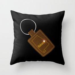 Alabama Leather Key Fob Throw Pillow