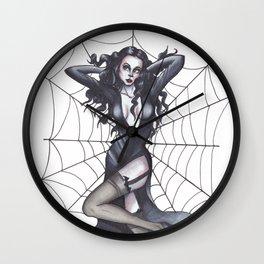 Pin-up Morticia Wall Clock