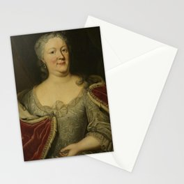 Johann Philipp Behr - Portrait of Maria Louisa van Hessen-Kassel, called Maaike-Meu. Widow of the St Stationery Cards