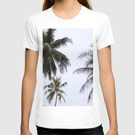 Tropical palm trees T-shirt