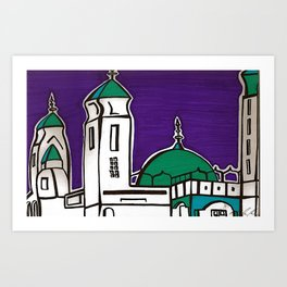 La Grande Mosquee Art Print
