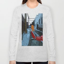 Alley Beside the Metro Long Sleeve T-shirt